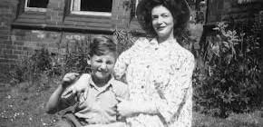 John Lennon and his mother Julia
