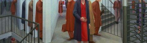 Subway by George Tooker