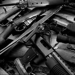 pile of guns