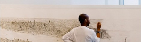 Aerial Drawings By Stephen Wiltshire