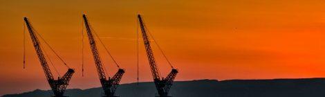 Cranes in the Sky
