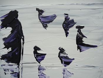 dissociative identity disorder, Kim Noble, art, artist, image, mental illness, multiple personalities, mental health, coping, trauma