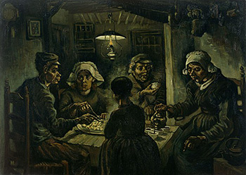 Depression, Images, Mental Illness, Loneliness, Support, Sadness, Anxiety, Poverty, Family, Survivors, Vincent Van Gogh, The Potato Eaters