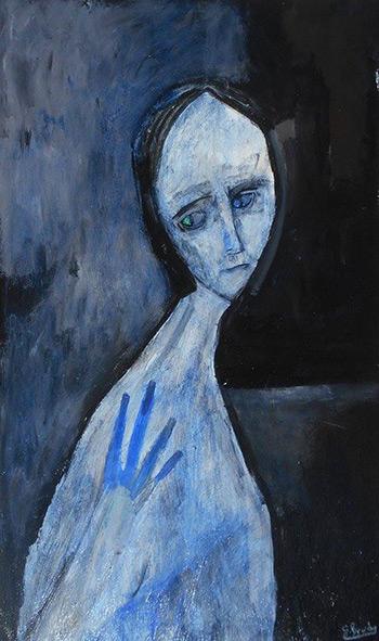 Art, Painting, Sadness, Depressed, Melancholy, Mental Illness, Mental Health, Glenn Brady, Dark, Artist, Depression, Image