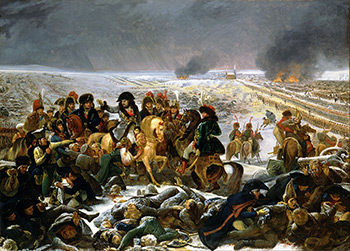 Antoine-Jean Gros, painting, war, trauma, suffering, Napoleon, death, battle, battlefield, Eylau, painter, mental illness, image