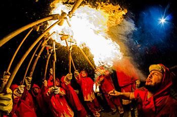 fire-art,-Mental-health,-trauma,-fire-breathers,-danger,-Burning-Man,-belonging,-community,-risks,-performers,-psychology