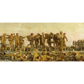 War, World War I, Soldiers, Trauma, Heroic, Gas Attack, Heroism, Deadly, Controversy, John Singer Sargent