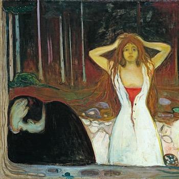 Edvard Munch, Munch, Smithsonian, Famous Painters, Mental Health, Trauma, Mental Illness, Ashes, Despair, Denial