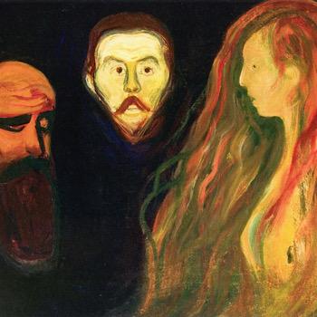 Painting, Mental Illness, Edvard Munch, Tragedy, Trauma, Death, Expressionism, Art, Modernism, Illness
